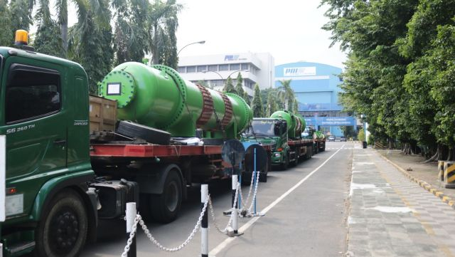 PT PAL Indonesia (Persero) Delivery Proyek Heat Exchanger C3W System PLTU P